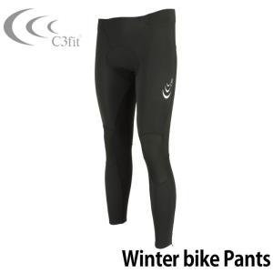 C3fit ウィンターバイク パンツ 3F26353 シースリーフィット メンズ サイクルウェア|upsports