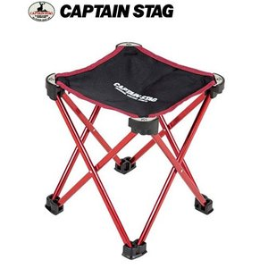 CAPTAIN STAG キャプテンスタッグ UC1560 トレッカー マイクロイージーチェア(レッド) キャンプ椅子