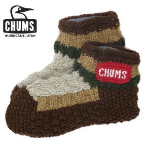 あすつく(翌日配達) CHUMS Patchwork Room Socks チャムス ソックス パッ...