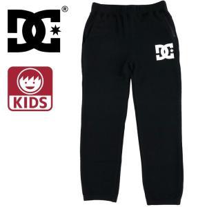 DC SHOES スウェットパンツ 黒 キッズ ジョガーパンツ ディーシー ブラック ジュニア ズボン 部屋着 綿|upsports