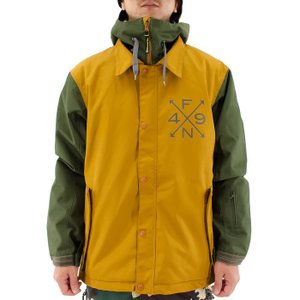 スノージャケット コーチジャケット スノボジャケット スノボウェア 4N-1512 男女兼用 FOURNINES スノーボードウェア ユニセックス 2015-2016 キャメル 通販