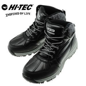 ハイテック スノトレ メンズブーツ HI-TEC BTU05 ブラック スノートレッキングシューズ 防水