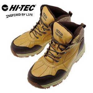 メンズブーツ HI-TEC ハイテック スノトレ スノートレッキングシューズ 防水 BTU05 ウィート 人気 おすすめ 即納 防水ブーツ 防水シューズ レインシューズ