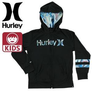 ハーレー ボーイズ ラッシュガード HURLEY RASH ZIP OPEN HOOD O&O 男の子 長袖 紫外線防止 Hurley キッズ|upsports