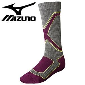 MIZUNO スキーソックス スノボソックス ミズノ スキー靴下 ブレスサーモ Z2JX4501
