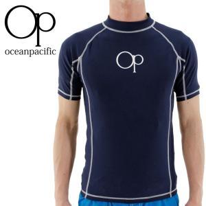 オーシャンパシフィック ラッシュガード OP 半袖ラッシュガード メンズ水着 プルオーバー OCEAN PACIFIC UVカット 2016 通販 販売 即納 人気