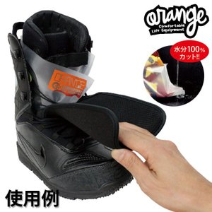 ORANGE スノーボードブーツドライソックス オレンジ スノボブーツドライソックス Boots DrySocks