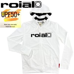 SALE ロイヤル レディース ラッシュガード ROIAL 水着 ジップアップ GRG04 ロゴ 長袖ラッシュガード|upsports