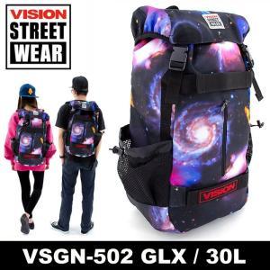 ビジョンストリートウェア リュック バッグ VISION「GLX/ギャラクシー」 国内正規品 通販 販売 通信販売 即納 人気 ストリートブランド 通勤 通学