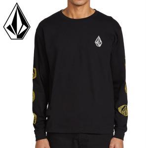 VOLCOM ロンT メンズTシャツ FUTURE STONES ロングスリーブ メンズ 長袖 ロゴ...