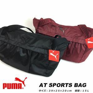 即納可☆ 【PUMA】 プーマ AT スポーツバッグ レディース ショルダーバッグ(075051-16skn)|upstairs