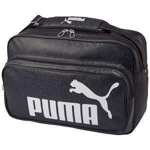 ◆◆ <プーマ> PUMA トレーニング PU ショルダー M(01:ブラック/ホワイト) プーマ ショルダーバッグ(075370-01-mkn-pum)|upstairs