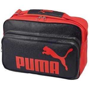 ◆◆ <プーマ> PUMA トレーニング PU ショルダー M(02:ブラック/プーマレッド) プーマ ショルダーバッグ(075370-02-mkn-pum)|upstairs