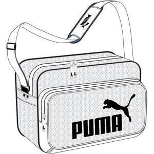 ◆◆ <プーマ> PUMA トレーニング PU ショルダー M 075370 (05:プーマホワイト/プーマブラック)|upstairs