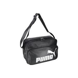 ◆◆ <プーマ> PUMA トレーニング PU ショルダー L 075371 (01:プーマブラック/プーマホワイト)|upstairs