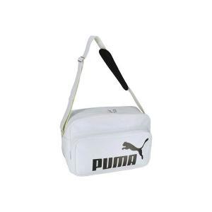 ◆◆ <プーマ> PUMA トレーニング PU ショルダー L 075371 (05:プーマホワイト/プーマブラック)|upstairs