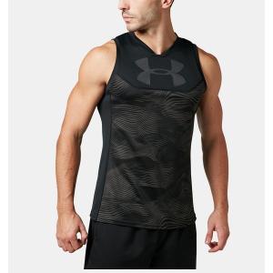 ◆◆送料無料 メール便発送 <アンダーアーマー> UNDERARMOUR ラグビーシングレット(ラグビー/Tシャツ/MEN) 1312826 (Black(003))|upstairs
