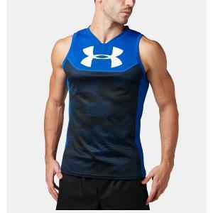 ◆◆送料無料 メール便発送 <アンダーアーマー> UNDERARMOUR ラグビーシングレット(ラグビー/Tシャツ/MEN) 1312826 (Royal(400))|upstairs