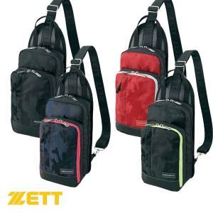 即納可★ 【ZETT】ゼット ボディバッグ スポーツバッグ 野球 BAN518(ban518-16skn) upstairs