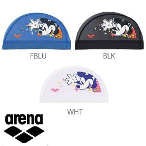即納可★ 【ARENA】アリーナ メッシュキャップ ディズニー 水泳帽 スイムキャップ(dis7309-16skn)|upstairs