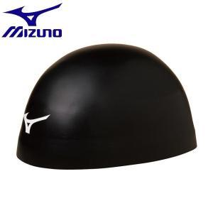 ◆◆送料無料 メール便発送 <ミズノ> MIZUNO GX-SONIC HEAD(シリコーンキャップ/小さめサイズ)[ユニセックス] N2JW8003 (09:ブラック)|upstairs