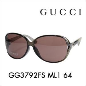 グッチ サングラス GG3792FS ML1 64 伊達メガ...