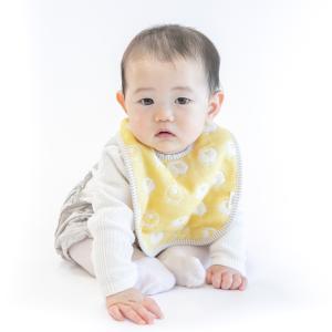 スタイ fuwara 六重織ガーゼbaby 単色柄(動物) 2枚まで送料無料 綿100%|uqlife