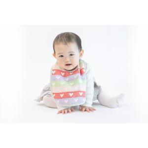 ベビースタイ fuwara 六重織ガーゼbaby 多色柄 2枚まで送料無料 綿100%  日本製 リバーシブル 赤ちゃん ベビー プレゼント 男の子 女の子|uqlife