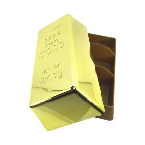 金塊レプリカ ゴールトバー 小物入れ JB-083ジュエリーケース,ペンケース,アクセサリーケース,金の延べ棒フィギュア|urarakastr