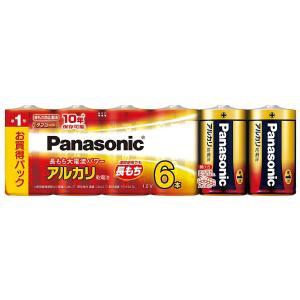 パナソニック 単1形アルカリ乾電池 6本パック LR20XJ/6SW urarakastr