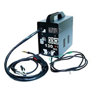 ガス不要 半自動溶接機 MIG130 単相100V ロングトーチケーブル仕様鉄・ステンを御家庭でもお手軽に溶接|urarakastr