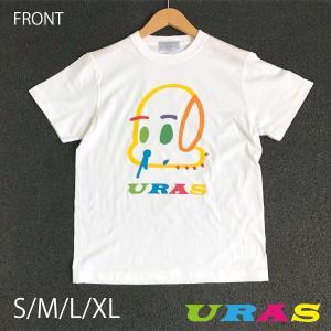 Tシャツ 夏 カラフル 犬 はなげ犬  URAS かわいい |uras