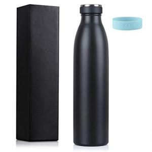 Love-KANKEI 水筒 マグボトル ステンレスボトル 真空断熱 保熱保冷 牛乳瓶 直飲み 75...