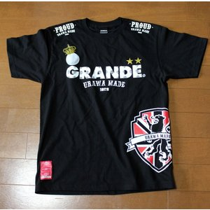 浦和フットボール通信10周年メモリアルver PROUD URAWA MADE×GRANDE T-SHIRTS|urawa-football|02