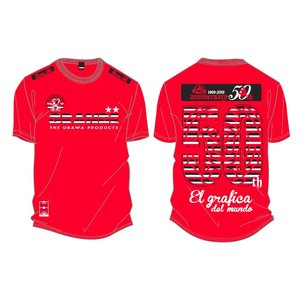酒蔵 力 50th Anniversary×GRANDE FOOTBALL PRODUCTSコラボアイテム 記念Tシャツ|urawa-football