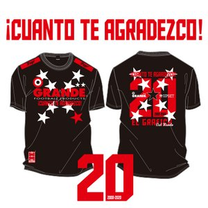 GRANDE 20TH ANNIVERSARY T-SHIRTS 'XX'<予約>|urawa-football
