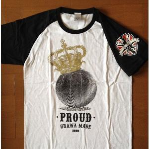 FOOTBALL CROWN ラグランTシャツ<WHT>|urawa-football