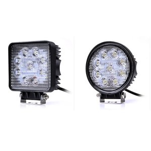 トラクター作業灯 広角LEDワークライト、タイヤ灯 マグネットの変わりにネジ止めは確実です。広角 6...