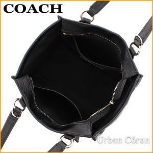 コーチ バッグ ショルダーバッグ 2way COACH F11925 ブラック クロスビー クロスグレーン レザー キャリーオール21 IMBLK|urban-coron|05