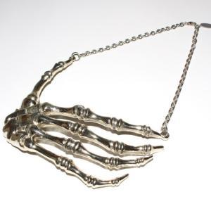 手の骨のシルバーネックレス(MAFIA)|urcaguary