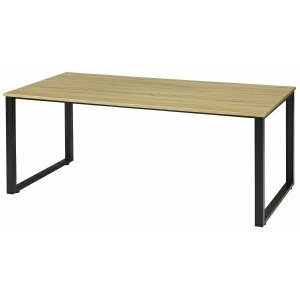 頑丈!! 会議テーブル W1800×D900×H720 ロの字脚 ミーティングテーブル 会議用テーブル オフィス家具|ureshii-office
