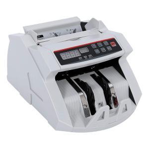 ONE STEP マネーカウンター 操作パネル日本語表記 包装箱日本語表記 自動紙幣計数器 お札カウンター ビルカウンター 子機付き 卓上用 グレー|ureteq