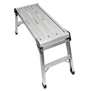 足場台 アルミ製 折りたたみ便利 軽量 (幅100CM)|ureteq
