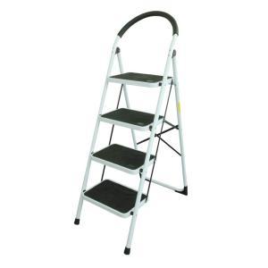 ONE STEP  (4段)踏み台 脚立 踏み台 折りたたみ おしゃれ 軽量 折りたたみ脚立 持ち手付き ステップ台 ステップラダー はしご 梯子|ureteq