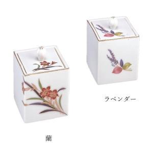 四角分骨壷(蘭・ラベンダー) | 分骨 骨壷 納...の商品画像