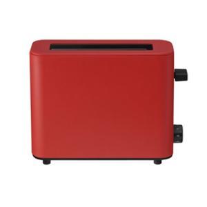 プラスマイナスゼロ ポップアップトースター1枚焼き(レッド)