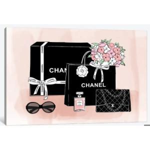 米国発ブランドオマージュアート Chanel Bags シャネル CHANEL インテリア 模様替え...