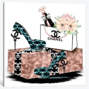 Eiffel Tower High Heels And Champagne シャネル CHANEL ...