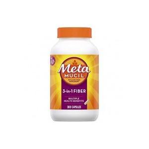【商品説明】 Metamucil社の100%天然由来のオオバコ繊維が含まれた3-IN-1マルチヘルス...