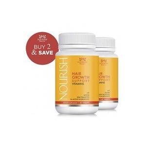 Nourish Beaute Hair Growth Support Vitamins 60粒×2個